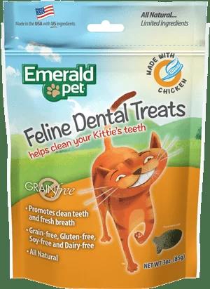 EMERALD PET CAT SNACK DENTAL POLLO