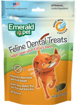 EMERALD PET CAT SNACK DENTAL POLLO