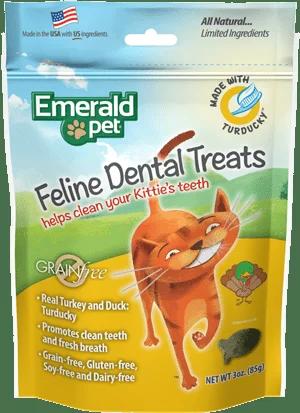 EMERALD PET Cat Snack Dental PavoPato