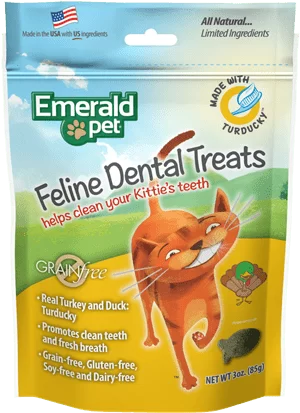 EMERALD PET Cat Snack Dental PavoPato