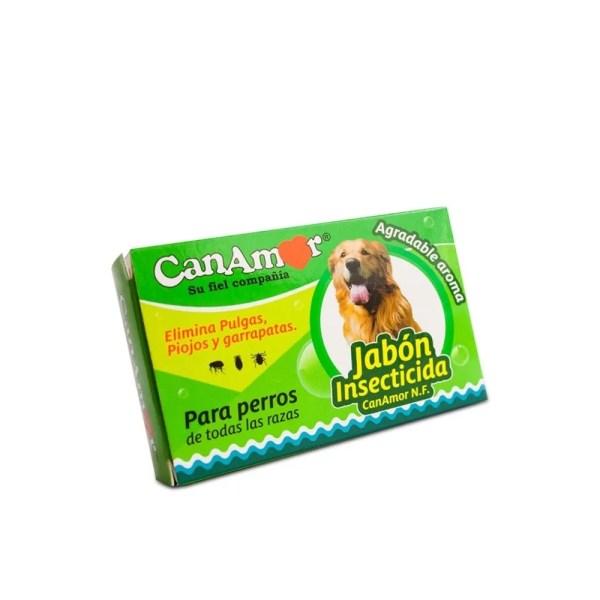 Jabón para Perros. Insecticida. Canamor. 90 g.