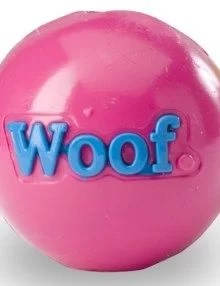PLANET DOG Pelota Woof Fucsia