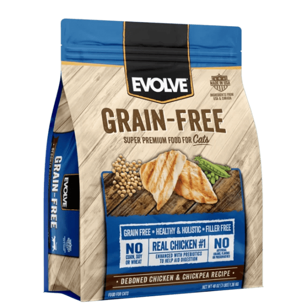 EVOLVE Cat Grain Free Chicken - Pollo