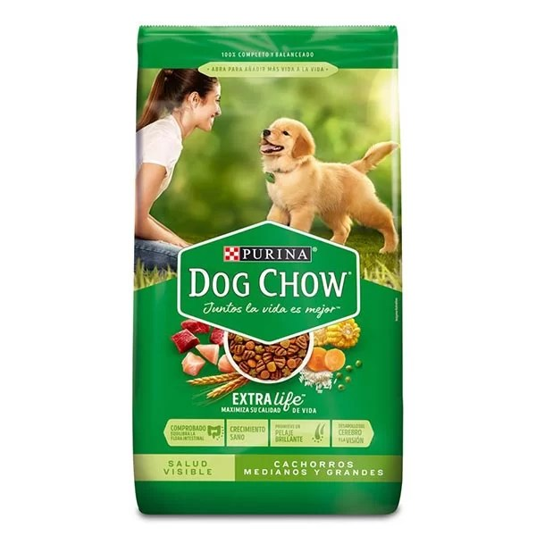 DOG CHOW SALUD VISIBLE CACHORROS