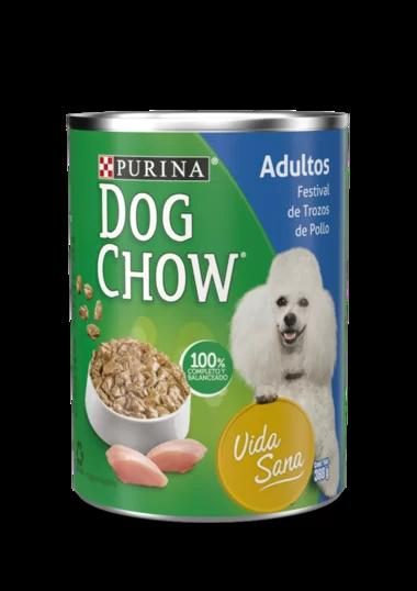 Dog Chow Festival De Trozos De Pollo