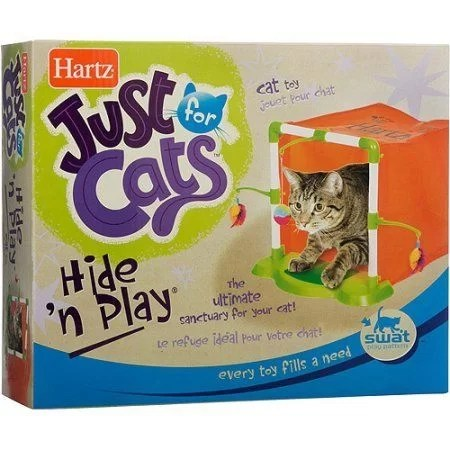 HARTZ GATO JUST FOR CATS CASA HIDE N PLAY