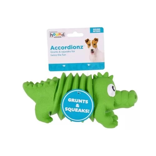 OUTWARD HOUND LATEX ACCORDIONZ COCODRILO