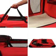 mool base portable fabric dog travel crates