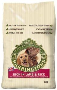 Harringtons Cheapest Grain Free dog food