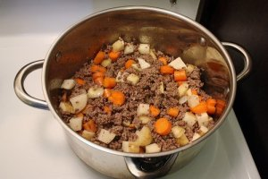 Homemade Dog Food - Beef Stew