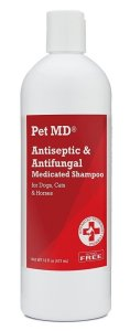 best medicated dog shampoo PET MD