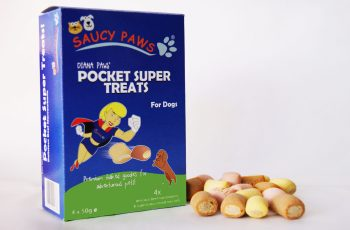Saucy Paws Pocket Super Treats scaled London Dog Lovers Launch New Dog Treats Range