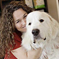 Laurel Dutrisac, Registered Veterinary Technicial, Certified Canine Rehabilitation Practitioner, Touch Animal Rehabilitation