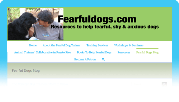 Best Blog on Fearful Dogs: Fearful Dogs