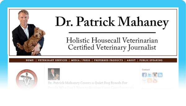 Best Dog Blogs of 2020: Dr. Patrick Mahaney