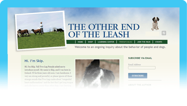 Best Dog Blogs of 2020:  The Other End of the Leash