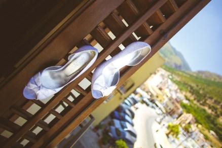 Свадьба на Сицилии. Свадебные туфли