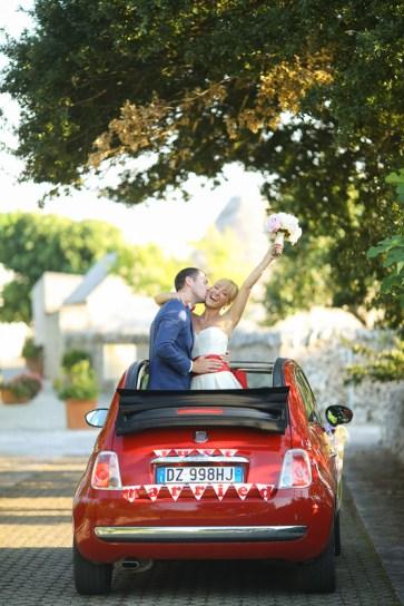 Машина на свадьбу Fiat 500 Cabrio. Wedding car Fiat 500 Cabrio