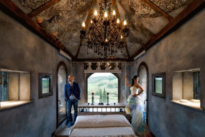 Wedding suite for the newlyweds