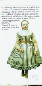 Antique Doll Collector, Jan., 2012