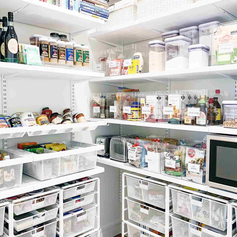 Organized Small Kitchen Storage Ideas Ikea Novocom Top