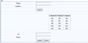 entity framework crud web form