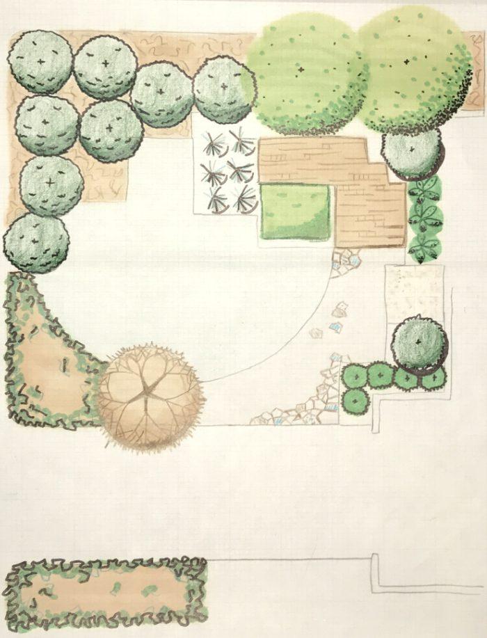 Organic Hand Drawing Design