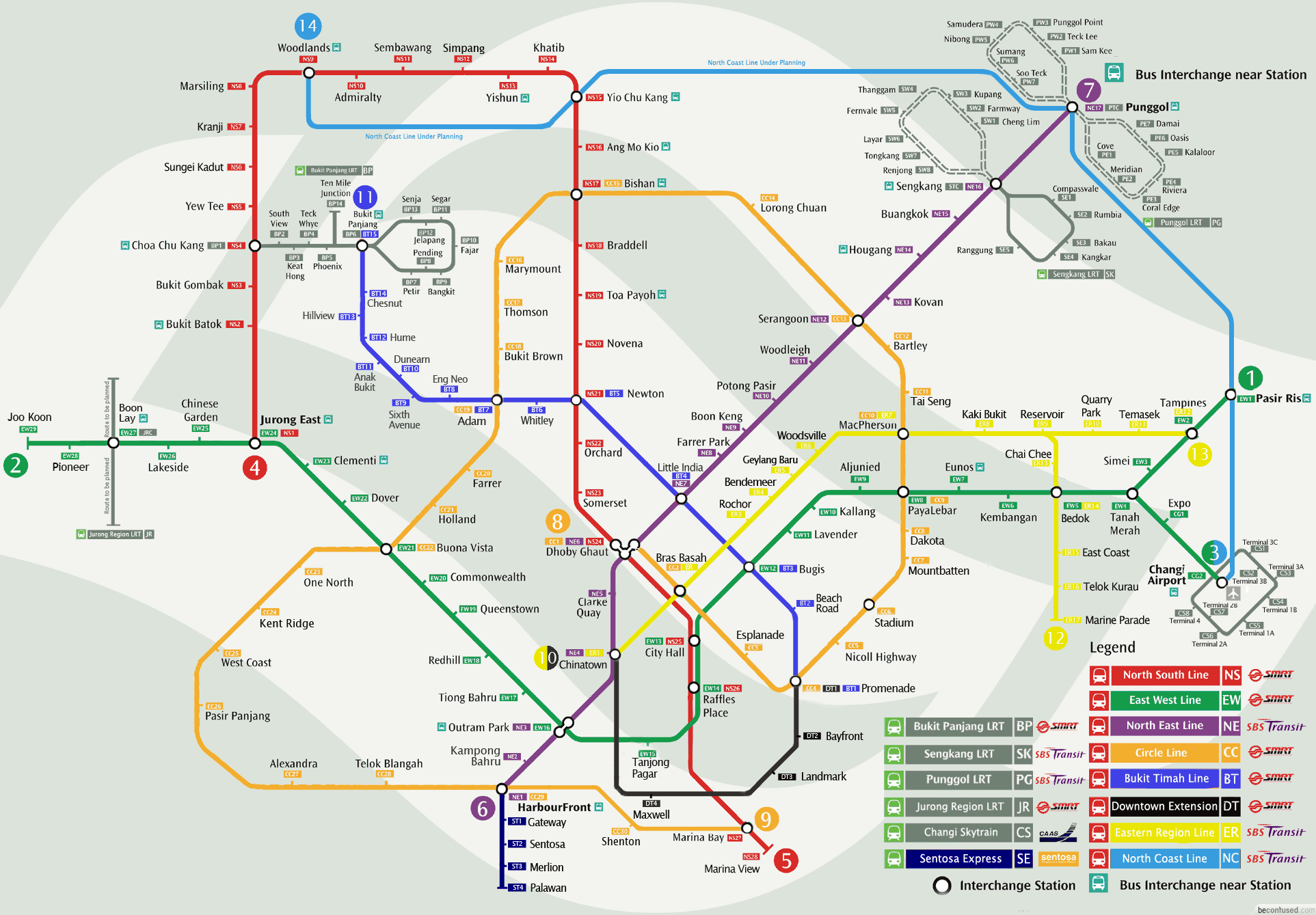 Future MRT Map Planning My Dream Home