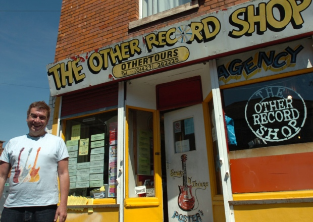 John Little - Other Record Shop Owner