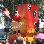 Wordless Wednesday – Pixar Pals Countdown to Fun Parade!
