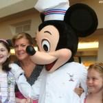 Enjoying Chef Mickey's