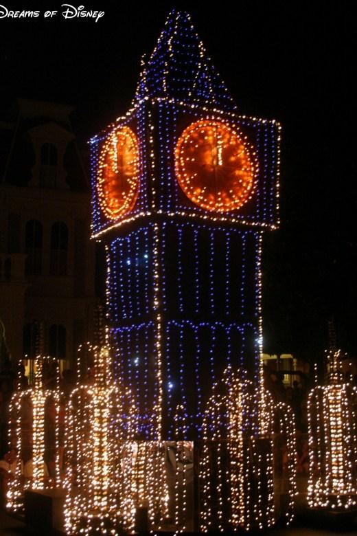 Main Street Electrical Parade, Magic Kingdom, Walt Disney World, Big Ben