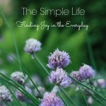 Prayers for the Week – The Simple Life