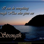 Prayers for the Week – The Strength of God