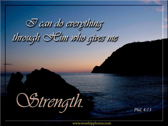 Strength of God