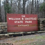 On the Road at William B. Umstead State Park!