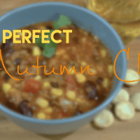 Recipe: The Perfect Autumn Chili