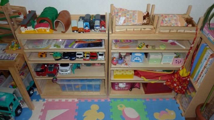 子供のおもちゃ収納ワゴン(2010年7月)