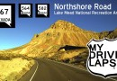 Scenic Drive through Lake Mead Recreation Area: Northshore Road
