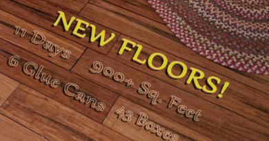 New Bamboo Engineered Flooring! Time-lapse Installation