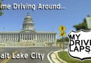 A Drive Around Salt Lake City, Utah