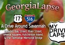 A drive around Savannah, Georgia Dashcam: I-517, US 17