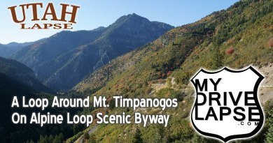 Alpine Loop Scenic Byway: Autumn Loop Around Mount Timpanogos, Utah