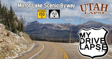 Mirror Lake Byway: Southbound from Wyoming into Utah on Route 150