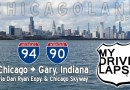 Chicago to Gary, Indiana on the Dan Ryan Expressway & Chicago Skyway