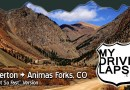 The Dirt Road Drive to Animas Forks, Colorado: Real-Time Dashcam Version