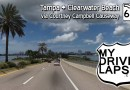 To The Beaches! Beautiful Florida Drive from Tampa to Clearwater Beach, Courtney Campbell Causeway