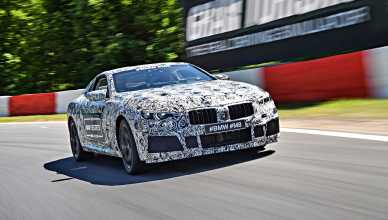 The BMW M8 - sporty BMW 8