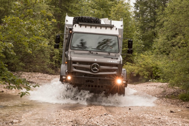 Mercedes-Benz Unimog named Off-Road Vehicle of the Year 2017