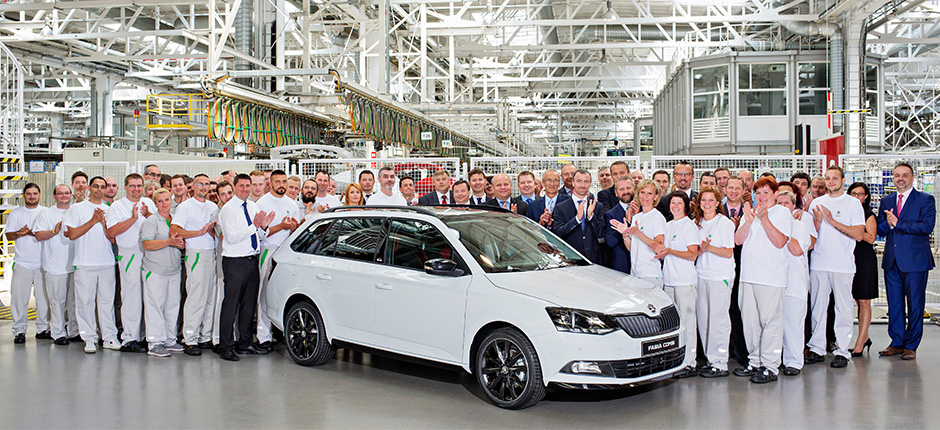 Double jubilee for ŠKODA FABIA